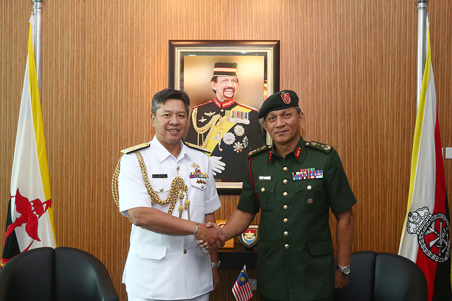 ACTING RBAF COMMANDER RECEIVED CALL FROM INSPECTOR GENERAL MAF