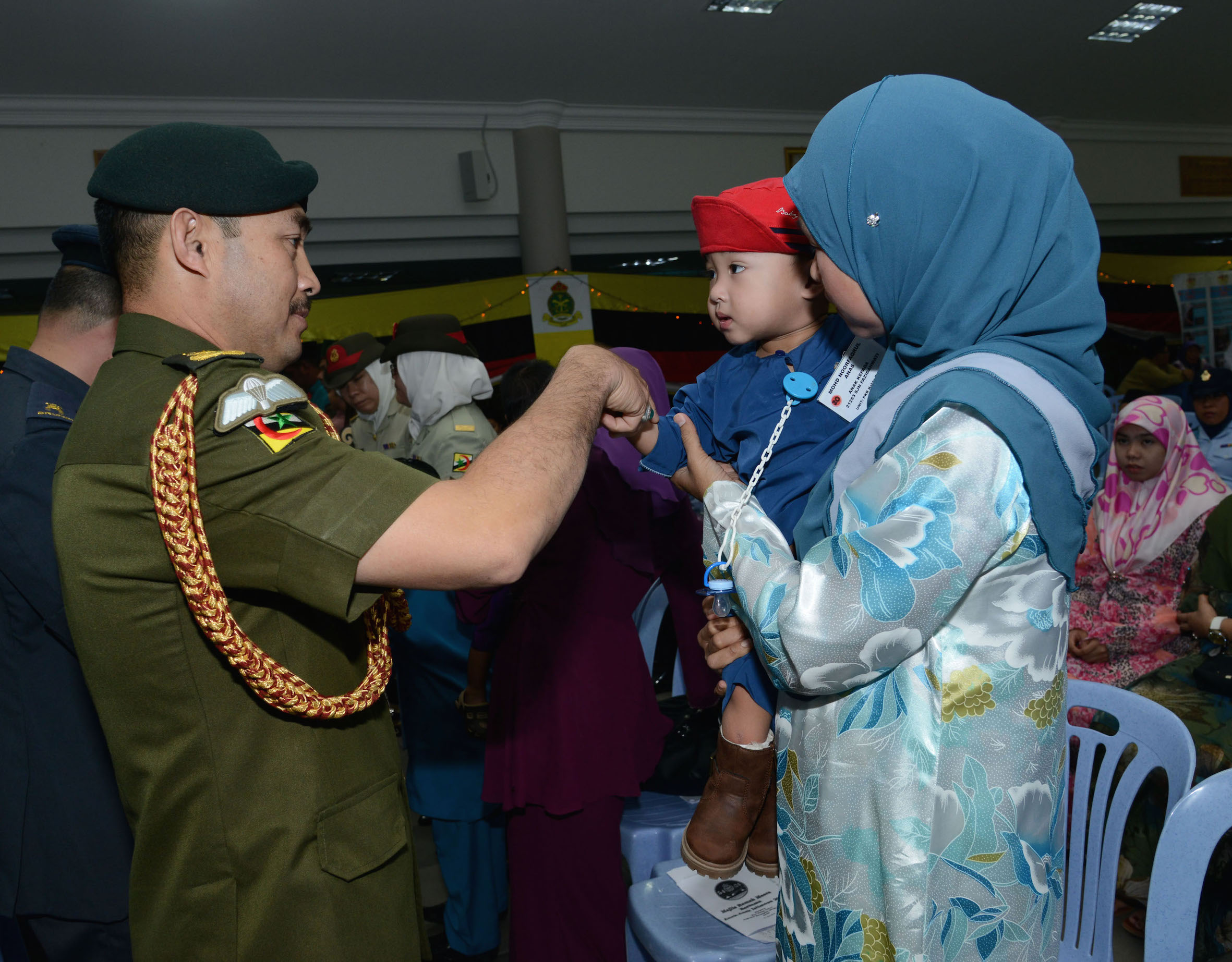 RBAF REACHES OUT TO 77 SPECIAL CHILDREN