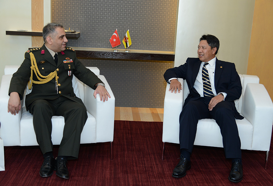 INTRODUCTORY CALL BY THE DEFENCE ATTACHÉ OF THE REPUBLIC OF TURKEY