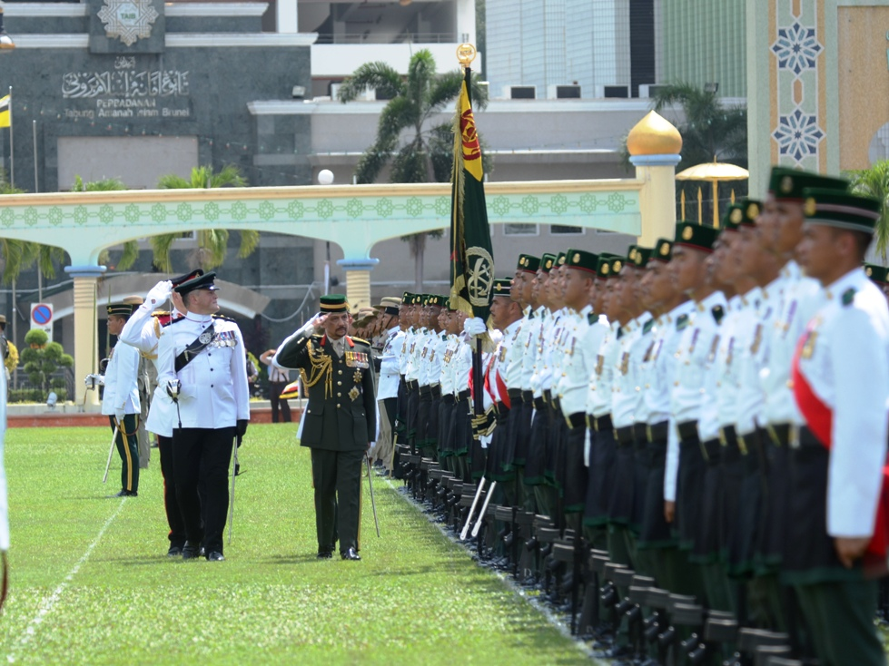 HIS MAJESTY GRACES GURKHA 200 COMMEMORATION PARADE