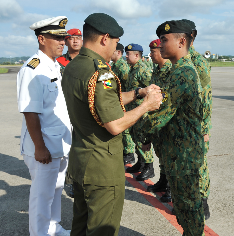9 PERSONNEL FROM 11TH IMT MISSION RETURN HOME