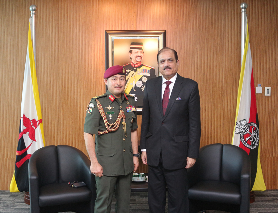 RBAF COMMANDER RECEIVED INTRODUCTORY CALL FROM THE HIGH COMMISSIONER OF THE ISLAMIC REPUBLIC OF PAKISTAN TO BRUNEI DARUSSALAM