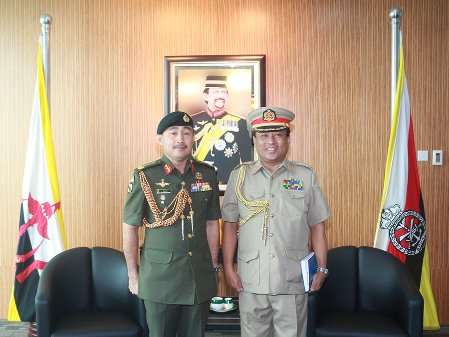 INTRODUCTORY CALL BY THE MILITARY, NAVAL AND AIR ATTACHÉ OF MYANMAR