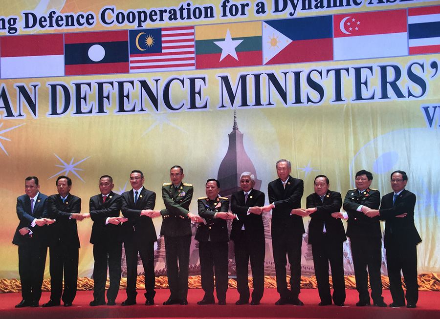 CELEBRATING THE TENTH ANNIVERSARY OF THE ASEAN DEFENCE MINISTERS' MEETING IN VIENTIANE