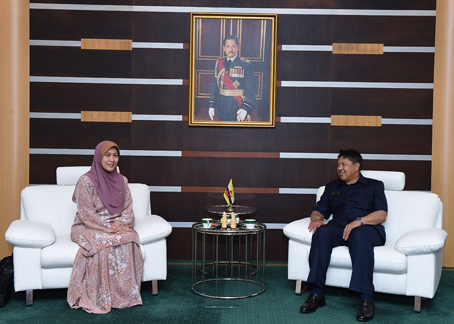 DEPUTY MINISTER OF DEFENCE RECEIVES CALL BY THE NEW BRUNEI DARUSSALAM'S PERMANENT REPRESENTATIVE TO ASEAN SECRETARIAT