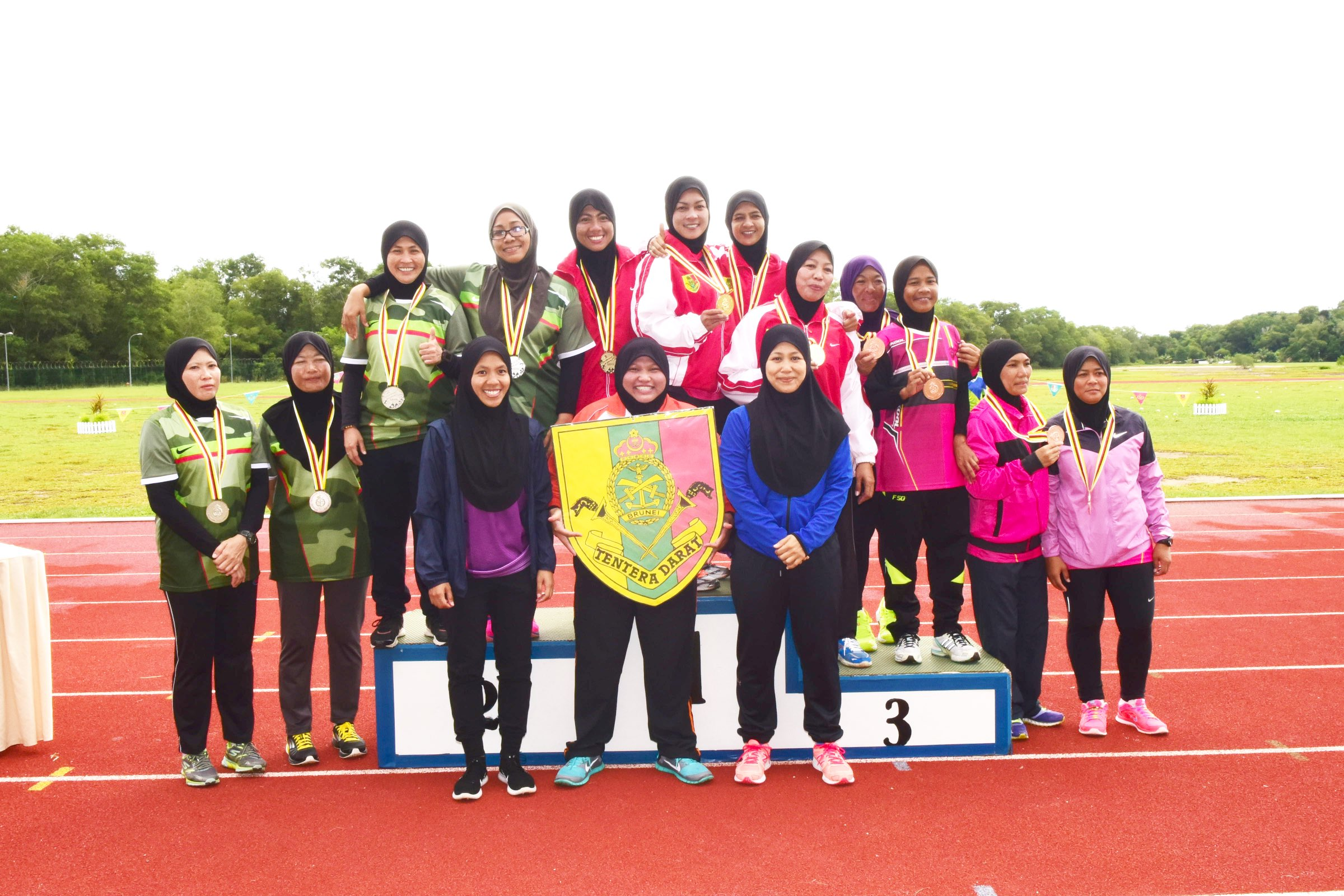 RBLF WIN RBAF LADIES ATHLETHICS CHAMPIONSHIP 2016/2017