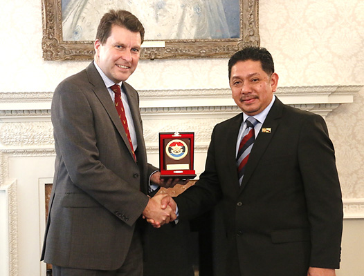14TH JOINT DEFENCE COMMISSION MEETING BETWEEN BRUNEI DARUSSALAM AND THE UNITED KINGDOM