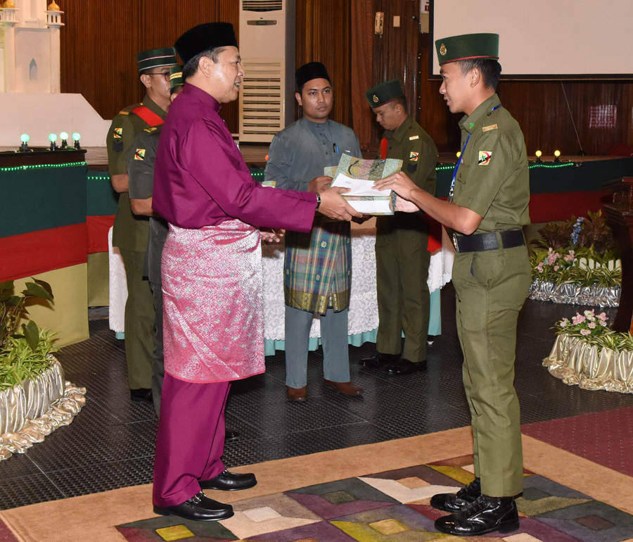 MINDEF & RBAF HAJJ PILGRIMS BLESSED AT JIWA MURNI CEREMONY