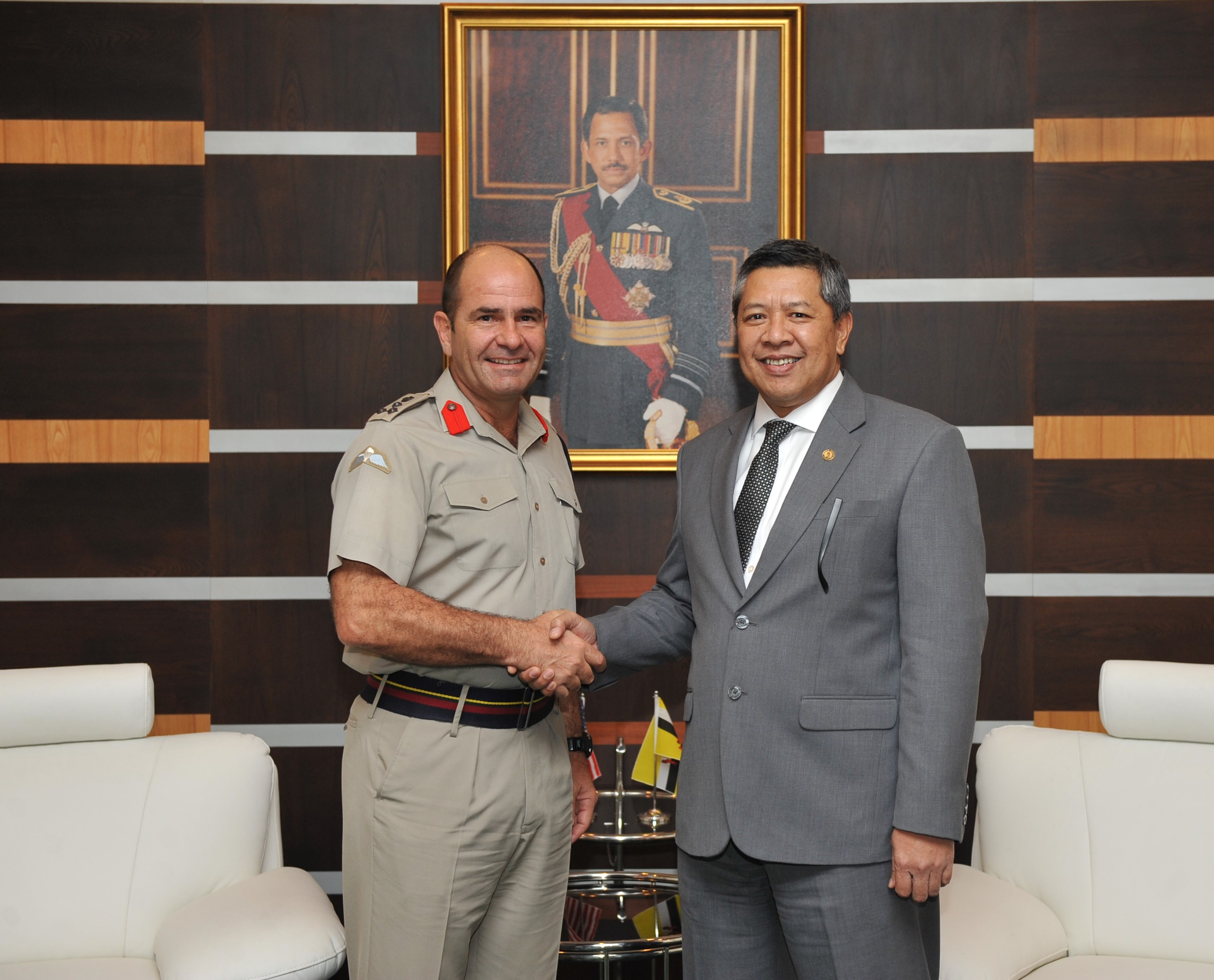 ​COURTESY CALL FROM DEPUTY DIRECTOR FOR INTERNATIONAL LOGISTICS AND THEATRE SECURITY COOPERATION, PACIFIC COMMAND, US