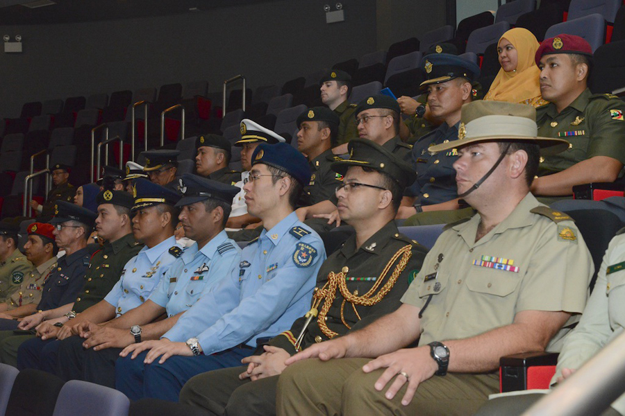 7TH COMMAND AND STAFF COURSE COMMENCES