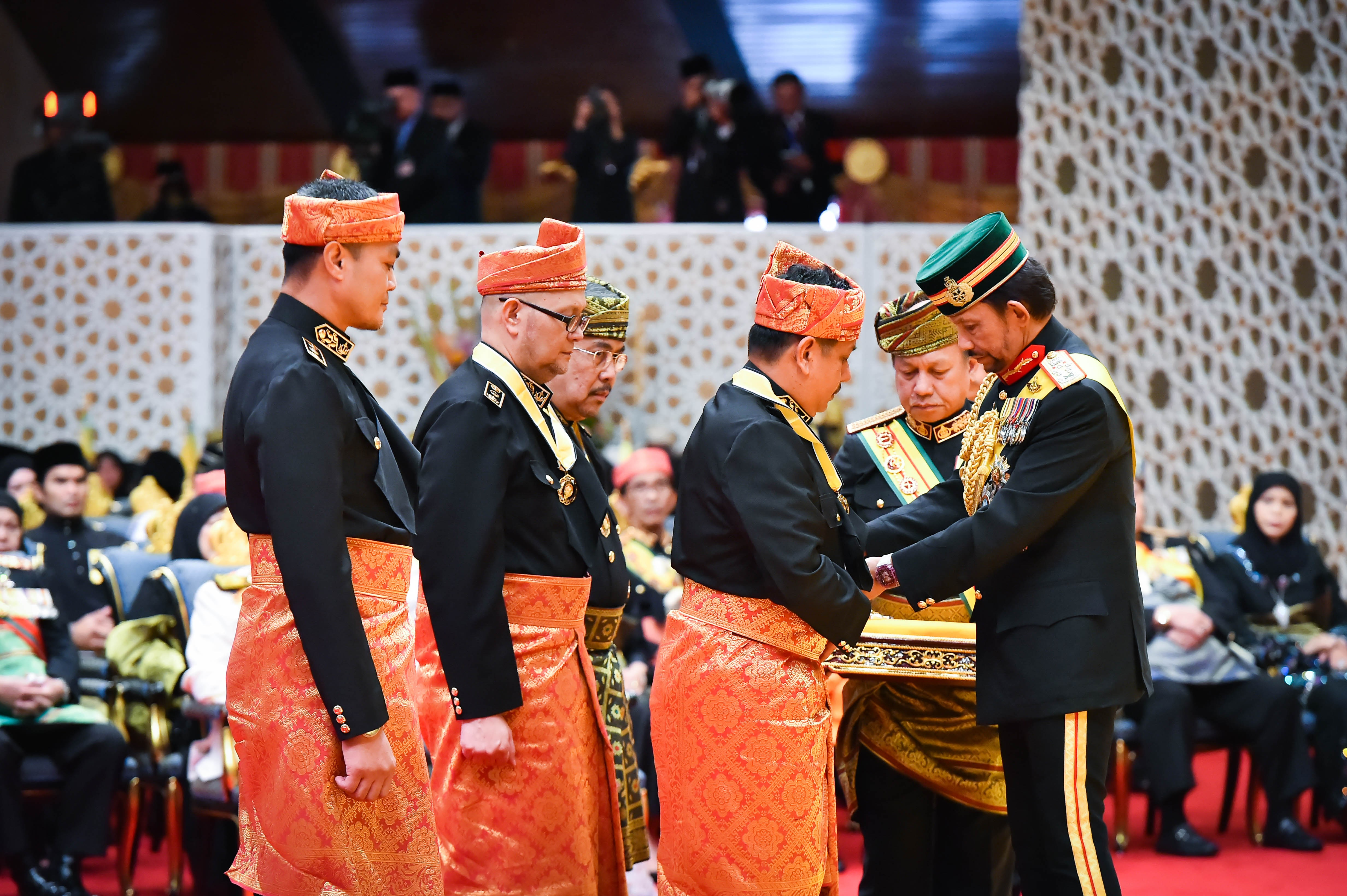 ​HIS MAJESTY THE SULTAN AND YANG DI-PERTUAN OF BRUNEI DARUSSALAM CONFERRED STATE DECORATIONS