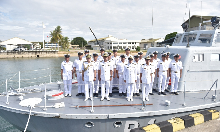 ​END OF COASTAL PATROL CRAFT SERVICE IN ROYAL BRUNEI NAVY