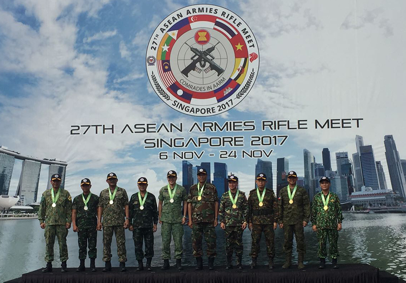 27th ASEAN ARMIES RIFLE MEET CONCLUDES