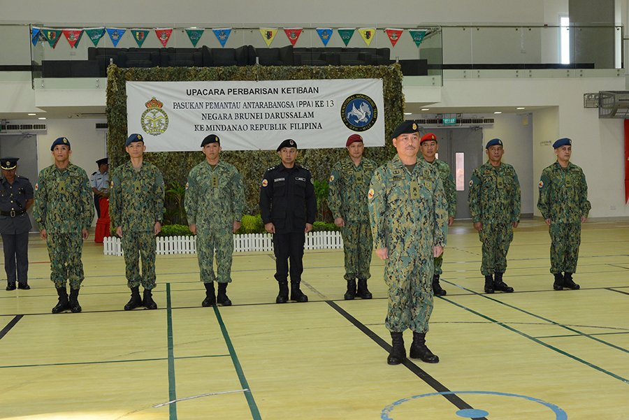 13th IMT CONTINGENT RETURNS HOME