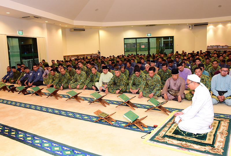 MINISTRY OF DEFENCE AND RBAF HOLD SPECIAL RELIGIOUS TALK TO COMMEMORATE ISRA' MI'RAJ 1439H