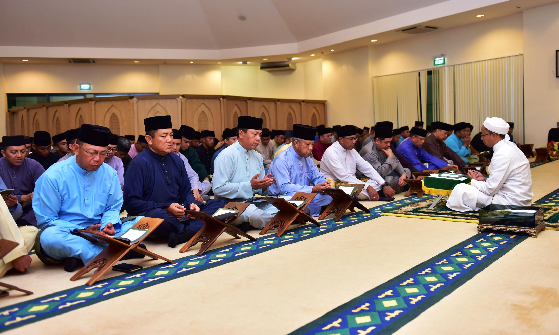 THANKSGIVING PRAYER CEREMONY TO MARK 44th BIRTHDAY OF HIS ROYAL HIGHNESS THE CROWN PRINCE
