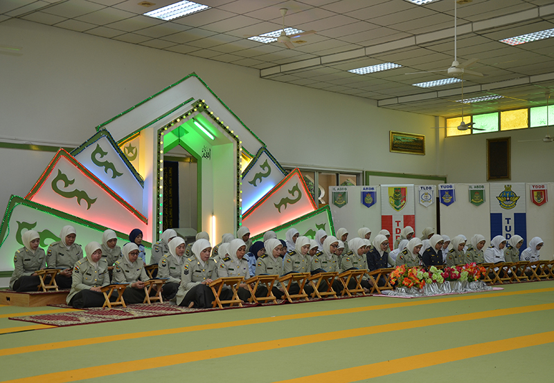RBAF WOMEN PERSONNEL HELD KHATAM AL-QURAN CEREMONY TO MARK RBAF 57th ANNIVERSARY AND THE MONTH OF RAMADHAN 1439H