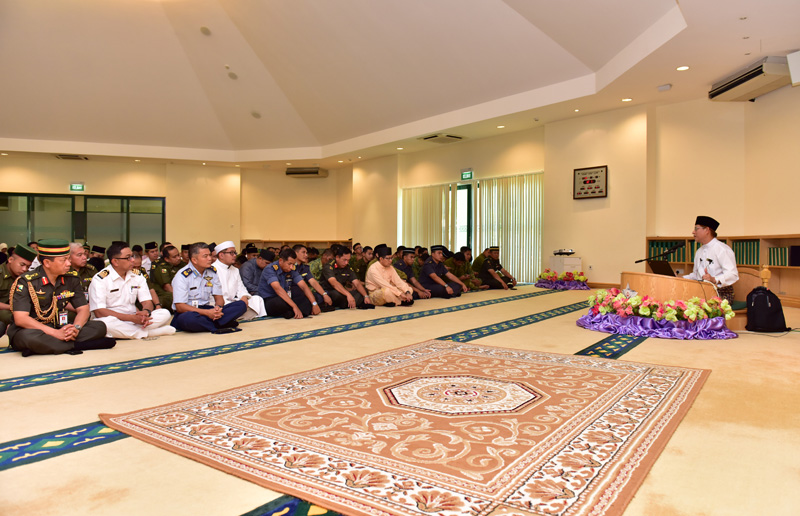 RELIGIOUS TALK HELD FOR MINISTRY OF DEFENCE AND RBAF PERSONNEL