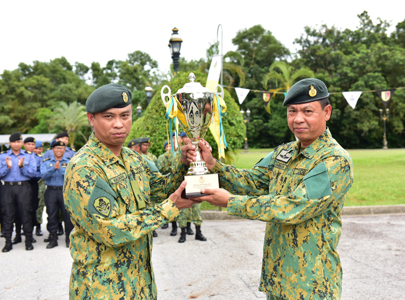 ROYAL BRUNEI ARMED FORCES ORIENTEERING COMPETITION 2017/2018