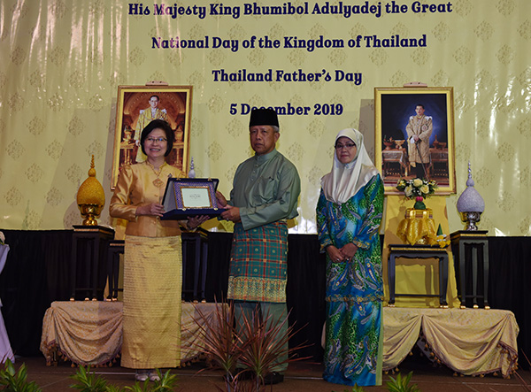 SECOND MINISTER OF DEFENCE ATTENDS RECEPTION IN CONJUNCTION OF BIRTHDAY ANNIVERSARY OF HIS MAJESTY KING OF THAILAND, THAILAND'S NATIONAL DAY AND FATHER'S DAY
