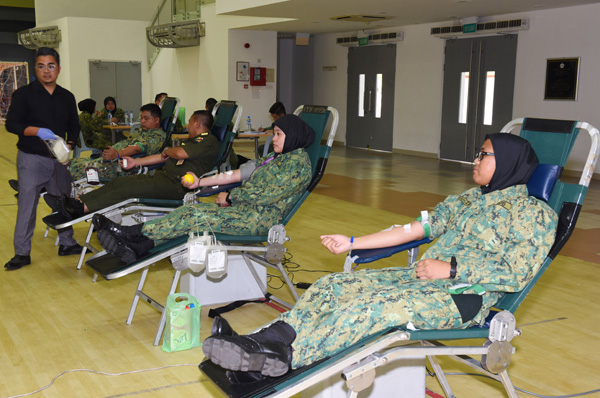MINISTRY OF DEFENCE HOLDS BLOOD DONATION CAMPAIGN