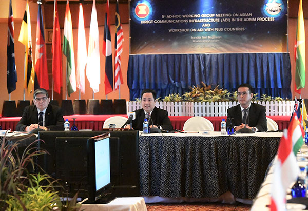​WORKSHOP ON ASEAN DIRECT COMMUNICATIONS INFRASTRUCTURE WITH PLUS COUNTRIES