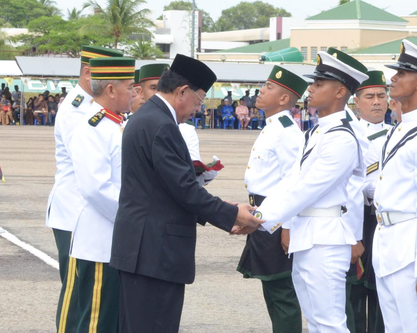 ​RBAF PASSING OUT PARADE 164th INTAKE MALE RECRUITS AND 55th INTAKE FEMALE RECRUITS
