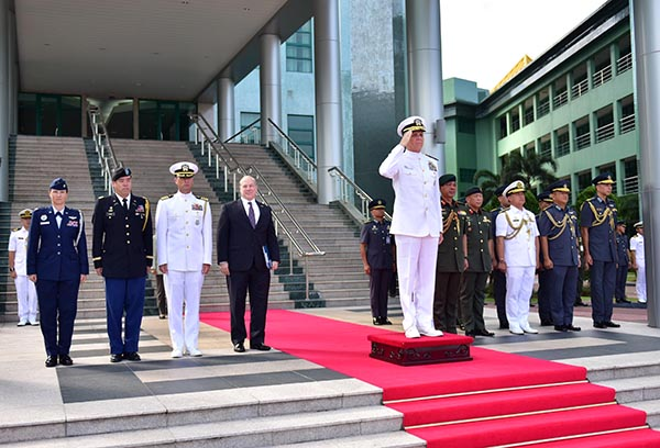 OFFICIAL VISIT BY COMMANDER OF US INDO-PACIFIC COMMAND (US INDOPACOM)