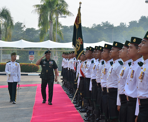 COMMANDING GENERAL OF THE PHILIPPINE ARMY MAKES INTRODUCTORY VISIT TO BRUNEI DARUSSALAM