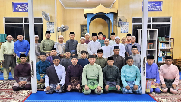 MINISTRY OF DEFENCE AND RBAF DELEGATION HELD RELIGIOUS ACTIVITIES UNDER THE IHYA RAMADHAN PROGRAMME AT BELAIT DISTRICT