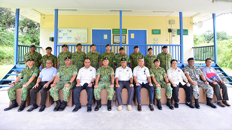 MINISTER OF DEFENCE II ATTENDS ZUHUR RELIGIOUS LECTURE AT PULAU BARU-BARU