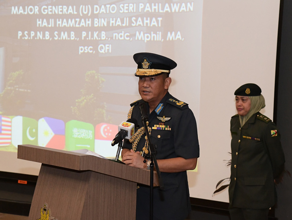 THE OPENING CEREMONY OF 11th COMMAND AND STAFF COURSE