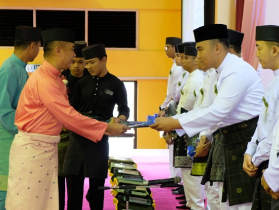 KHATAM AL-QURAN CEREMONY IN CONJUNCTION WITH THE GOLDEN JUBILEE ANNIVERSARY OF RBAF MILITARY CADETS