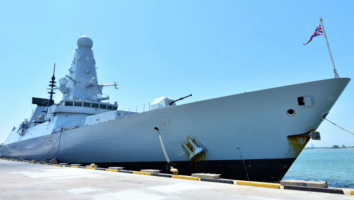 UNITED KINGDOM ROYAL NAVY'S HMS DEFENDER MAKES A GOODWILL VISIT TO BRUNEI DARUSSALAM