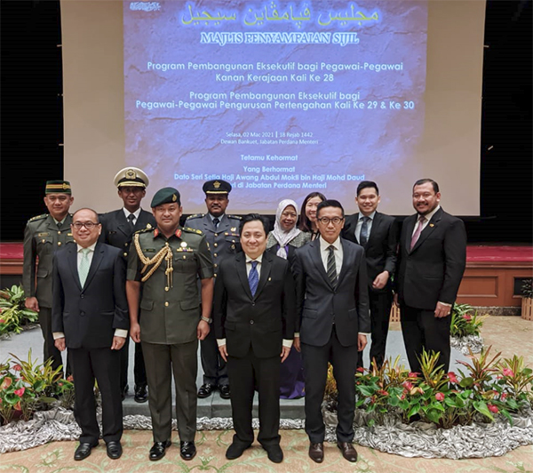 MINISTRY OF DEFENCE AND RBAF OFFICERS COMPLETEDEXECUTIVE DEVELOPMENT PROGRAMS FOR THE YEAR 2020