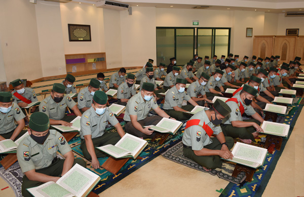 OPENING CEREMONY OF TADARUS AL-QURAN IN CONJUNCTION WITH THE ROYAL BRUNEI ARMED FORCES DIAMOND JUBILEE ANNIVERSARY