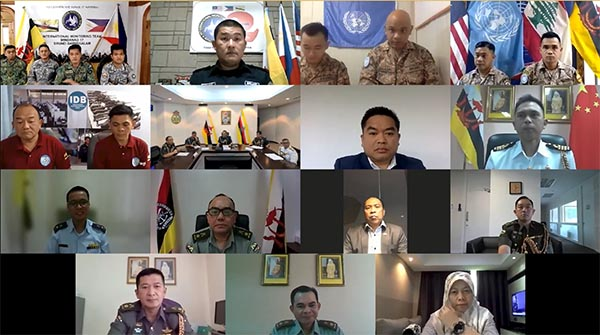 RBAF COMMANDER CONVENED A VIDEO CONFERENCE WITH IMT, UNIFIL, IDB RBAF CONTINGENTS AND DEFENCE ATTACHÉS ABROAD