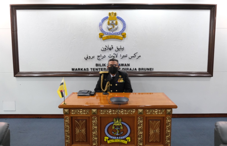 ROYAL BRUNEI NAVY PARTICIPATES IN THE 24TH INTERNATIONAL SEAPOWER SYMPOSIUM VIRTUALLY